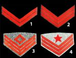 Confederate Artillery Insignia Chevrons [Allow 5-6 Weeks]s